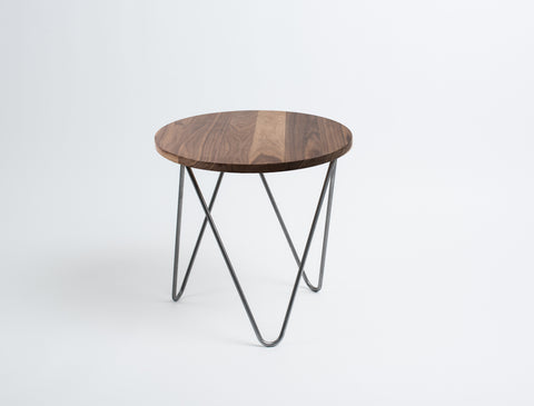 Kanso End Table in Walnut
