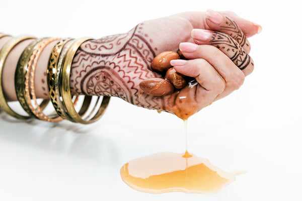 Argan Oil for dry, cracked and aging hands