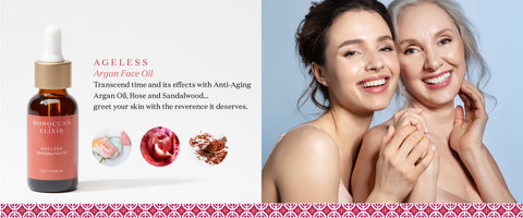 AGELESS:  Argan Oil for Face
