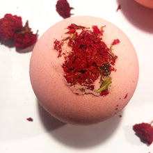 Cherry Blossom & Pomegranate Bath Bomb (7oz)