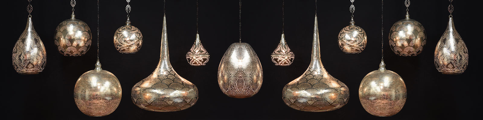 Antique Handmade Hanging Lamps