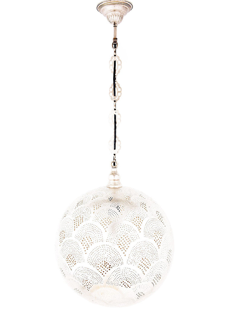 Metal Hanging Lamp - Globe