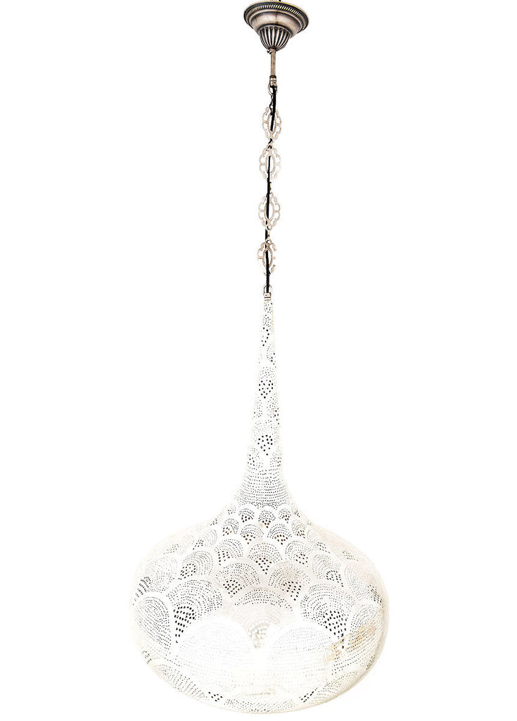 Metal Hanging Lamp Teardrop Lolo Rugs And Gifts