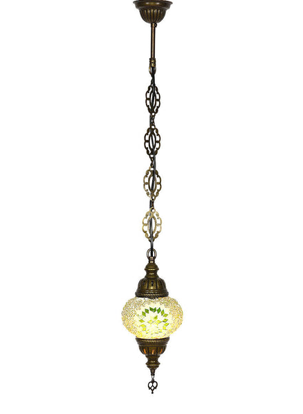 mosaic pedant hanging lamp light green - Hanging Lamp