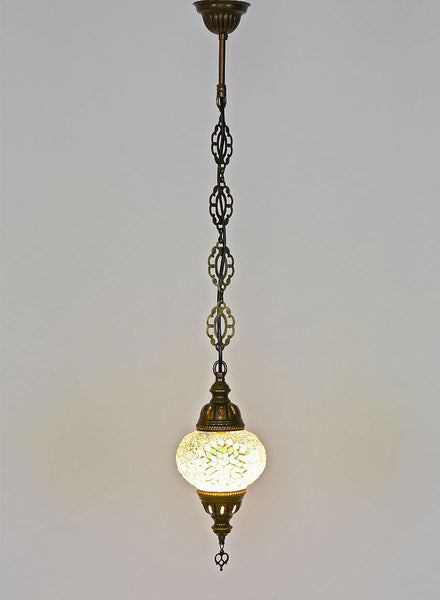 Mosaic Pedant Hanging Lamp -  Light Green