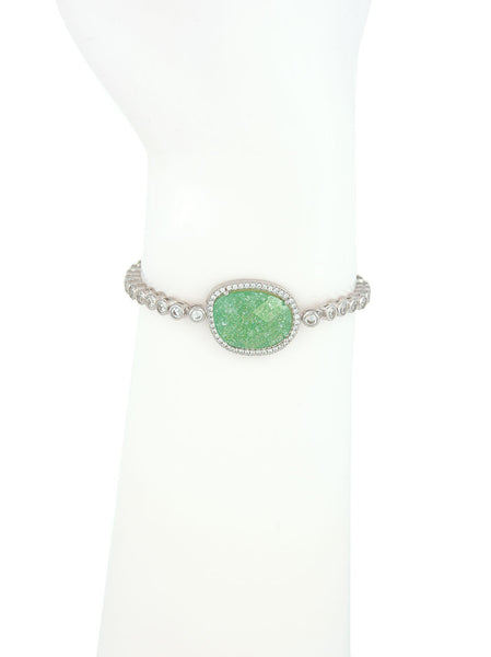 Adjustable Bracelet, Aventurine Stone