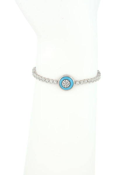 Adjustable Bracelet, Evil Eye Charm