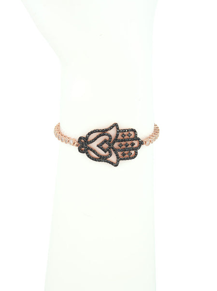 Adjustable Bracelet, Fatima Hand Charm