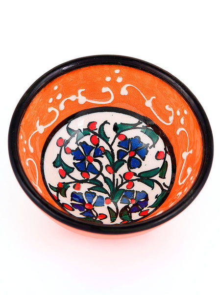 "Milenyum Bowl 3"" Bright Orange"