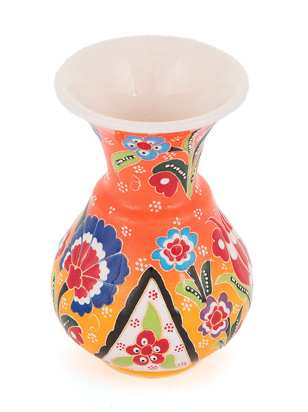 Decorative Vase, Yellow/Orange