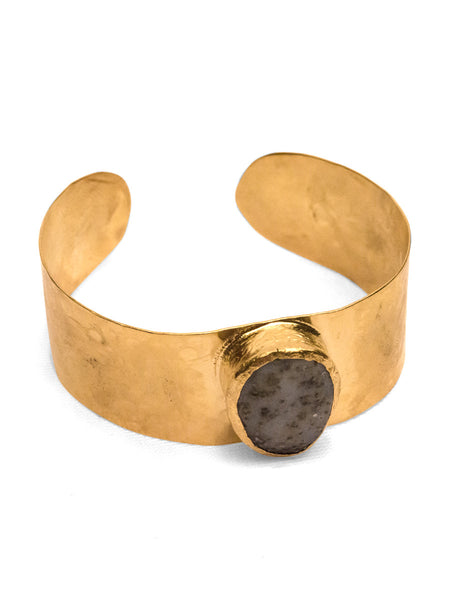 Bronze Bracelet - 21ct gold plated