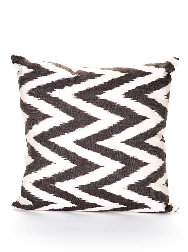 Silk Pillow Case - Black and White