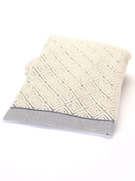 Bath Towel -  Diamond Blue