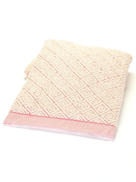 Bath Towel -  Diamond Pink