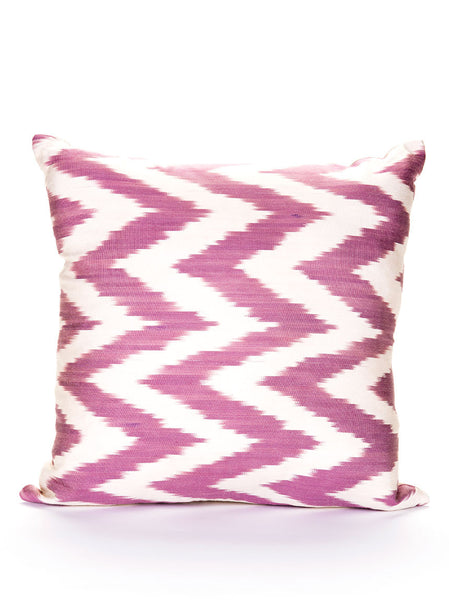 Throw Pillow Case - Silk with Cotton Back