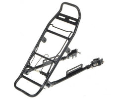 Bicycle Metal Rear Cargo Rack (FSLV)