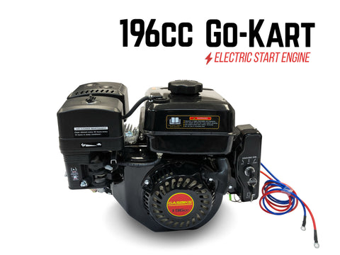 196cc Go-Kart Engine Only - Electric Start - Gasbike.net