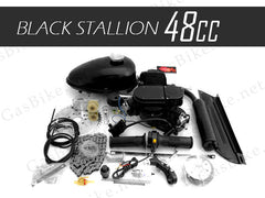 48cc Black Stallion 2 Stroke Angle Fire Slant Head Bike Motor Kit