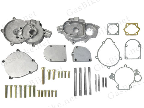 Complete Crankcase Body 66cc/80cc with Screws