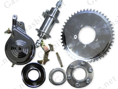 Heavy Duty Axle Kit (Non Free Wheel) - Gasbike.net