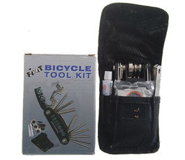Chrome Steel Bike Repair Tool Kit, 21-Tool Set (Free Shipping)