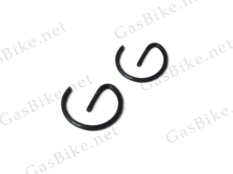 Piston Retaining Clips - 49cc 4-Stroke (2pcs) - Gasbike.net