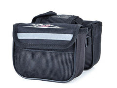 Bicycle Frame Pannier Front Tube Canvas Bag (FSLV)