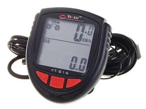 "1.4"" LCD Electronic Bicycle Computer Speedometer (FSLV)"