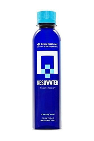 RESQWATER Proactive Recovery Drink, 8 Ounce (12 Pack) - Gasbike.net