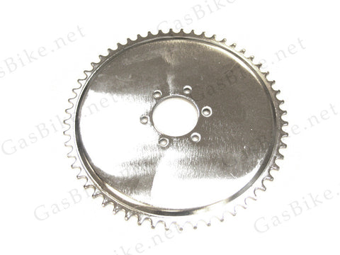 56 Tooth Sprocket for Non-Free Wheel Heavy Duty Axle Kit - 6 Holes - Gasbike.net