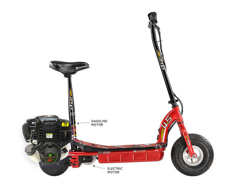 eZip 4.5 Gas & Electric Scooter (Free Shipping)