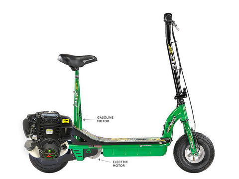 eZip 450 Gas & Electric Scooter (Free Shipping) - Gasbike.net