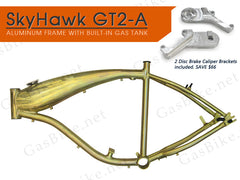 SkyHawk GT2-A Aluminum Frame with Disc Brake Caliper Brackets