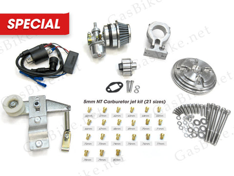 66cc/80cc High Performance Racing Parts Kit - Gasbike.net