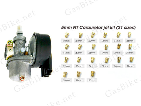 NT Carburetor with 5mm Jet Kit