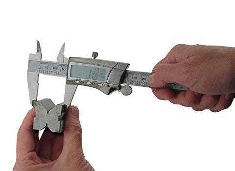 General Tools 147 Digital Fractional Caliper with Extra-Large  LCD Screen, 3 Mode Display, 6-Inches - Gasbike.net