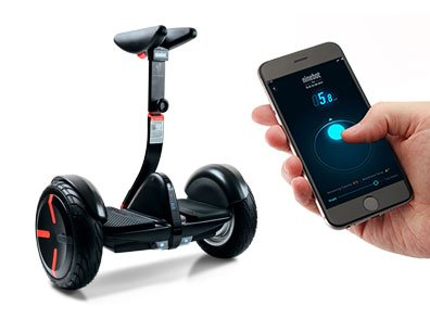 Segway miniPRO | Smart Self Balancing Personal Transporter with Mobile App Control (Black)