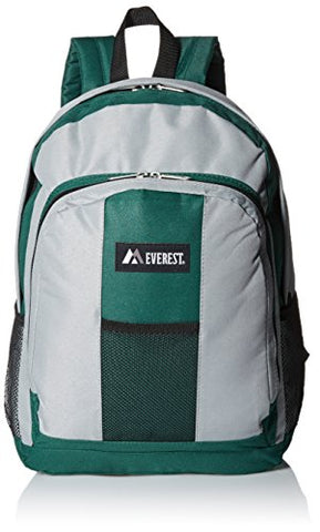 Everest Luggage Backpack with Front and Side Pockets
