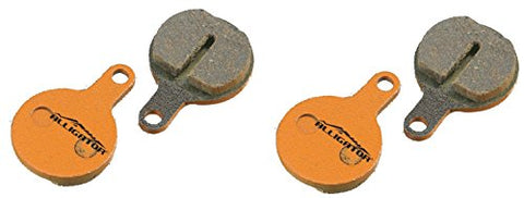Alligator Organic MTB Bike Disc Brake Pads for Tektro Novela/ IOX /Lyra (2 Pair) - Gasbike.net