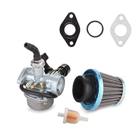 ATV Carburetor PZ19 with Fuel Filter and 35mm Air Filter for 50cc 70cc 80cc 90cc 110cc 125cc ATV Dirt Pit Bike Taotao Honda CRF By LIAMTU - Gasbike.net