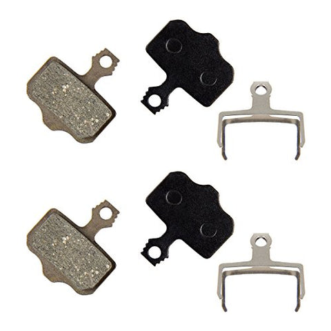 PAMASE Bike Disc Brake Pads for Avid Elixir/ SRAM XX, XO, XXWC/ Shimano Deore / Shimano SLX XT XTR - GH Resin (Semi-Metallic) - Durable & Long-lasting