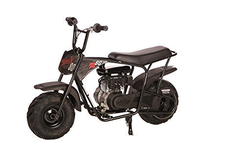 Monster Moto Mm B105 Rbs Black Red Gas Mini Bike With Front