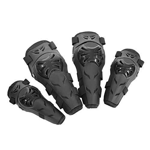 Adult Motorcycle Motorbike Knee/&Elbow Guards Braces Protector Pads Sports Safety