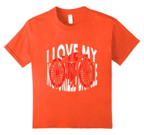 I Love My Motorized Bicycle Shirt | Funny Motor Bicycle Tees - Gasbike.net
