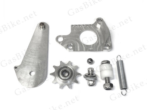 CNC Springer Chain Tensioner with Chain Guide - Gasbike.net