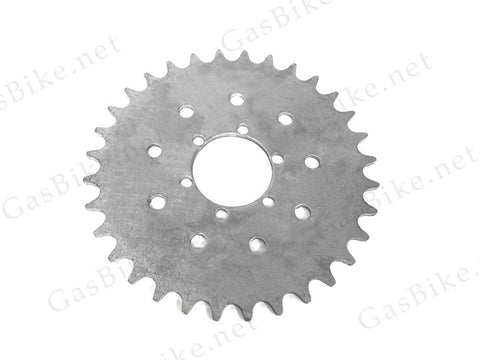 32 Tooth Chain Sprocket (9 and 6 Holes) - Gasbike.net
