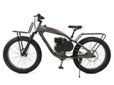 PHATMOTO™ ALL TERRAIN Fat Tire 2021 - 79cc Motorized Bicycle with Hilliard Clutch (Matte Graphite)