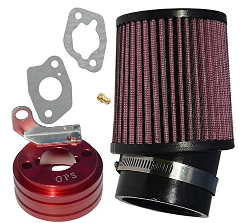 212cc Predator Performance Air Filter, Adapter & Upgrade Jet - Gasbike.net