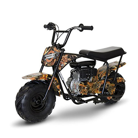Monster Moto MM-B80 Youth Mini Bike - Real Tree Camouflage