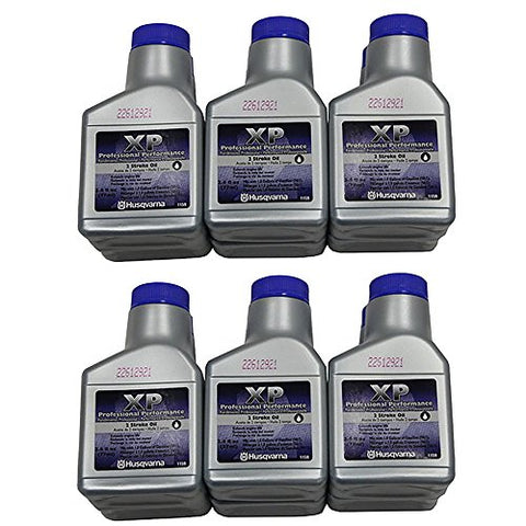 Husqvarna XP 2 Stroke Oil 2.6 oz. Bottle 6-Pack - Gasbike.net